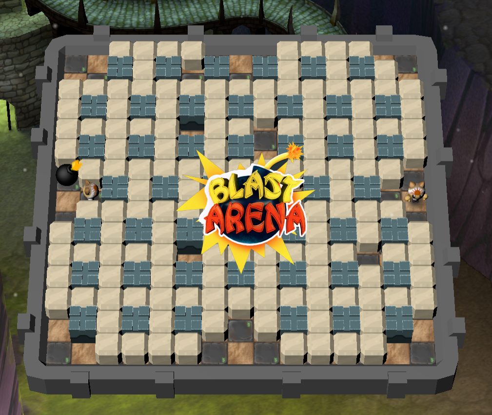 Play Blast Arena! Game
