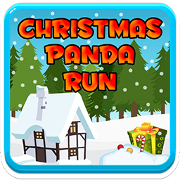 Play Christmas Panda Run Game