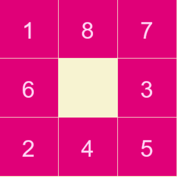 Play Sliding puzzle Game